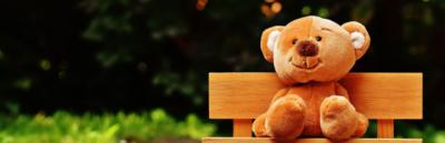 Leksaksnalle gjord av ekologiska material